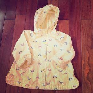 Light Yellow Toddler Raincoat from OshKosh B'gosh